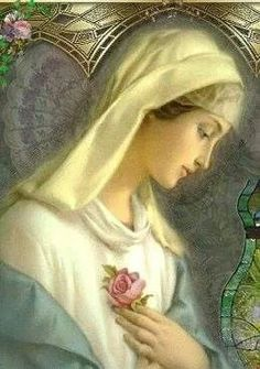 .She is the most beautiful of mothers, Our Lady.