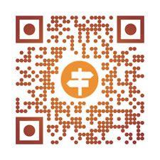 Orange, geolocation QR code. Create you own by visiting http://tagmyprint.com/data/details/376?src=pinteresttag