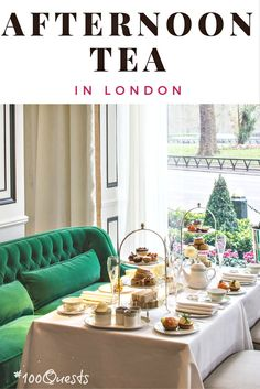 It's Afternoon Tea Week in London! Why not celebrate with this not-to-be-missed experience at one of London's top hotels, the 5-star Grosvenor House Hotel. Click through to see the menu and find out how to book. Happy sipping!