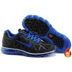Mens Nike Air Max 2011 Black Royal Blue Sneakers [New Shoes - : More and More Cheap Shoes Sale Online,Welcome To Buy New Shoes 2013 Nike Air Max 2011, Cheap Nike Air Max, Nike Air Max For Women, Mens Nike Air, Nike Men, Cheap Jordans, Nike Shox Shoes, Nike Shoes Outlet, Free Running Shoes