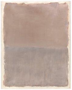 Mark Rothko: acrylic on paper