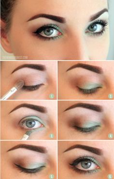 Tutoriels de maquillage pour les yeux verts