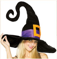 Adult Funky Witch Hat