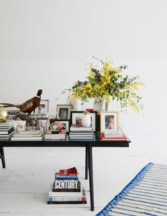 Inside Keren Craig's Upstate Oasis Home Interior Design, Interior Styling, Keren Craig, Eclectic Artwork, Travertine Coffee Table, Exclusive Homes, My Ideal Home, Safe Haven, Oil Painters