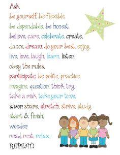 Classroom Freebies: Do Poster