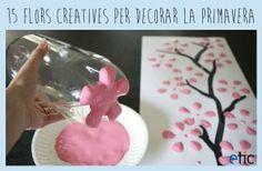 """15 flors creatives per decorar la primavera - """"15 flores creativas para decorar la primavera"""""""