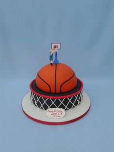 Basketball Cake | Margarita Packham | Flickr