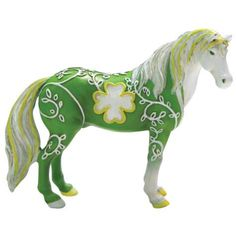 Horse Of A Different Color Lucky Mustang Horse Mini All The Pretty Horses, Beautiful Horses, Painted Pony, Hand Painted, Unicorn Art, Horse Sculpture, Carousel Horses, Animal Decor, Horse Art