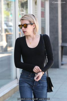 Emma Roberts shopping at Kate Spade on Third Street in West Hollywood pictures Hollywood Pictures, Hollywood Photo, West Hollywood, Third Street, Emma Roberts, Designer Dresses, Photo Galleries, Kate Spade, Turtle Neck