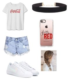 Doop by laurelhoward on Polyvore featuring polyvore, fashion, style, MANGO, Glamorous, NIKE, Humble Chic, Casetify and clothing