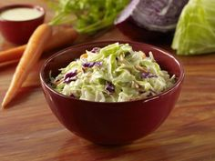This classic coleslaw recipe is perfect for picnics and barbecues and goes with all kinds of sandwiches and grilled meats. See how to make coleslaw.
