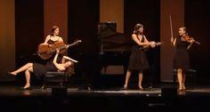 Um Quarteto Feminino Absolutamente Incrível