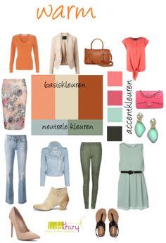 Waarom je juist nu je garderobe na moet kijken | www.lidathiry.nl | Maak een #kleurenschema voor je #lentegarderobe Klik op de foto voor de tips
