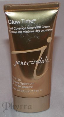 Jane Iredale Glow Time Full Coverage Mineral BB Cream Review and Swatches
