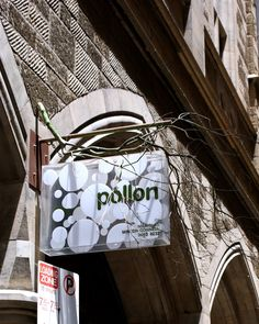 "...this will be MY flower shop (they stole my name!!!) ""pollon"" (flower shop, melbourne)"