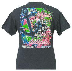 Girlie Girl Originals Anchor Dark Heather Grey Adult Shortsleeve T Shirt | eBay