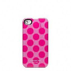 Polka Dot IPhone 4 Case - Coach - $38.00