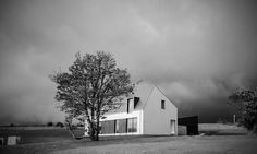 BGA Architects_Gransha Road House Bga, Architects, Country Roads, Clouds, Contemporary, House, Outdoor, Outdoors, Home