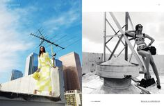 #chanel iman #fashion #editorial #photography