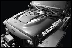 Black Mountain Heat Reduction Hood E Coated Primer For 2007+ Jeep Wrangler & Wrangler Unlimited JK