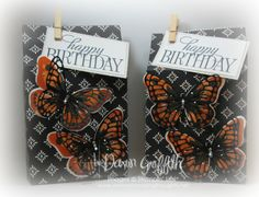 Butterfly Birthday Bags
