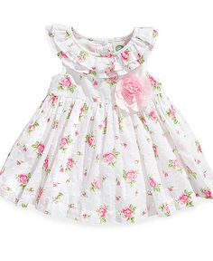 Sewing Baby Girl Little Me Baby Dress, Baby Girls Floral Dress - Kids Baby Girl months) - Macy's - Toddler Dress, Baby Dress, Toddler Girl, Baby Girls, Infant Toddler, Little Dresses, Little Girl Dresses, Girls Dresses, Baby Girl Fashion