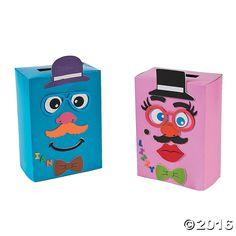 Monkey Valentine Card Holder Bag Craft Kit  Valentines card