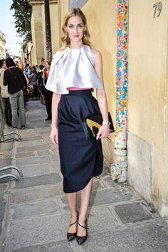 Street Style con falda midi, llévala como prefieras