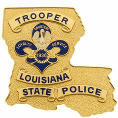 Law Enforcement Badges, Emergency Medical Services, Hard Work And Dedication, Fire Heart, State Police, Criminal Justice, Louisiana, Nebraska, Oklahoma