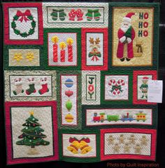Visions of Christmas by Eva Kilgore, 2013 AZQG, photo by Quilt Inspiration