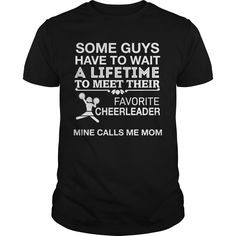 Get yours beautiful My Favorite Cheerleader Calls Me Mom Best Gift Shirts & Hoodies.  #gift, #idea, #photo, #image, #hoodie, #shirt, #christmas