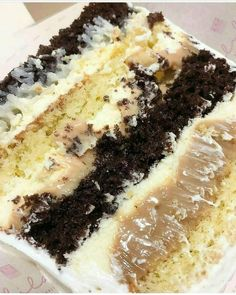 Fancy Cakes, Mini Cakes, Delicious Desserts, Yummy Food, Tasty, Chef Recipes, Christmas Desserts, Cakes And More, Yummy Cakes