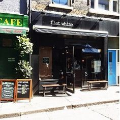 Flat White, W1.   25 Unmissable Coffee Shops In London London Coffee Shop, London Cafe, Coffee Cafe, Coffee Shops, Berwick Street, London With Kids, Great Coffee, London Calling, White Flats