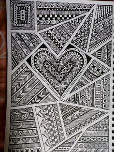 Ideas For Drawing Ideas Sharpie Doodles Tangle Patterns – Coloring Mandalas Mandala Art, Croquis Mandala, Mandala Doodle, Mandala Drawing, Tangle Doodle, Flower Mandala, Doodle Art Drawing, Zentangle Drawings, Pencil Art Drawings