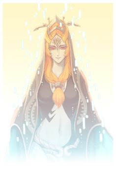 this is such a pretty picture of Midna :D