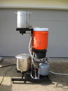 Diy Three Tier Brew Stand Home Brew Forums Brewing