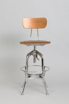 TOLEDO CHAIR swivel high chair -chrome #家具