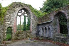Ruins of Bodmin's Mediaeval Chapel, Cornwall