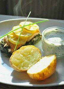 Papillote de Saumon aux Épinards et Pommes de Terre au Four - Cuisinons En Couleurs
