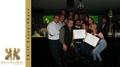 Foto de familia de los participantes en este taller de ShishaGIRL, el primero que se realiza en europa.