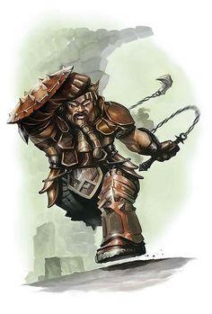 Dwarf Flail