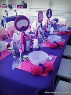 Spa Party Birthday Party Ideas | Photo 10 of 46 | Catch My Party