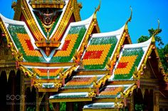 THAILAND Colors of the Grand Palace Bangkok by gerypeny