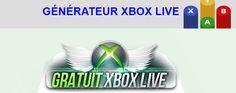 Avez vous besoin de codes Xbox Live gratuits ? Alors ne cherchez plus et découvrez dès à présent notre générateur gratuit XboxLive en ligne ! http://www.generateurxboxlive.com