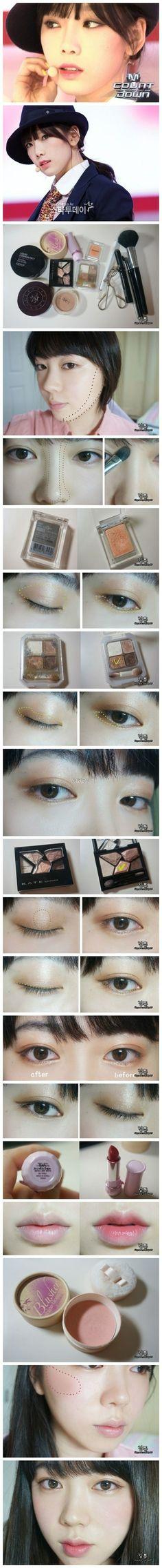 Korean make up snsd
