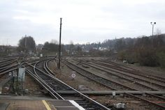 Sidings by the North Downs Line, Redhill
