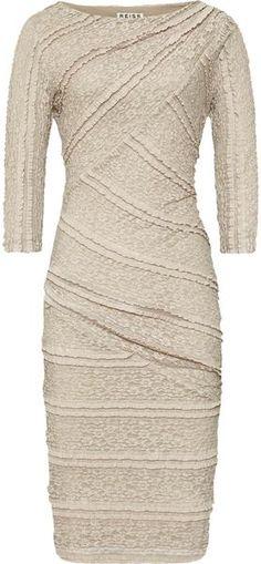 REISS Janelle Bodycon Lace Dress - Lyst Doncaster St Leger Horse Racing Fashion Furlong Fashion  www.furlongfashion.com