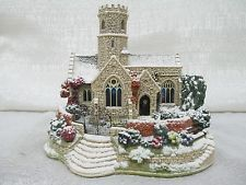 2002 Lilliput Lane Lead Kindly Light In Winter Illuminated Cottages L2621
