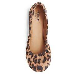 8c5951f3cb2 Women s Ona Wide Width Ballet Flats - Mossimo Supply Co. ™   Target Leopard  Ballet