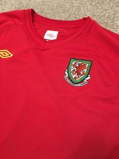 22ebae056 Gorgeous umbro welsh wales cymru football national shirt xl